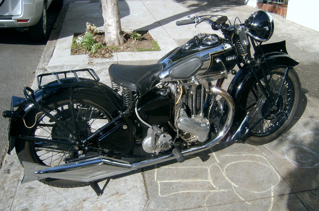 1935 Ariel Vg 500 Deluxe Bike Urious