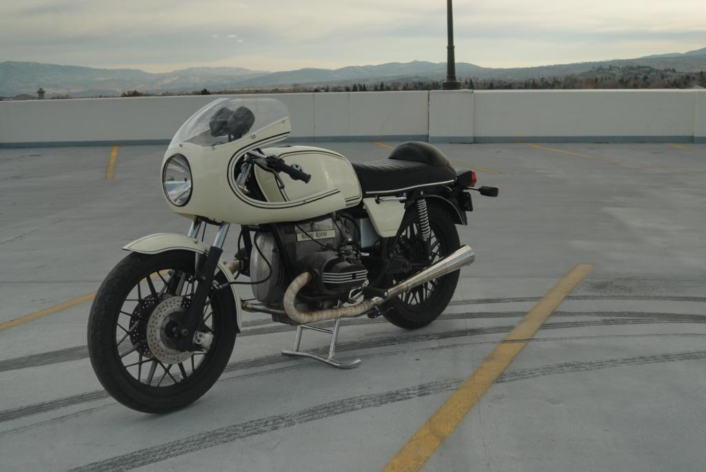 1980 Bmw R100 Vintage Cafe Racer Bike Urious