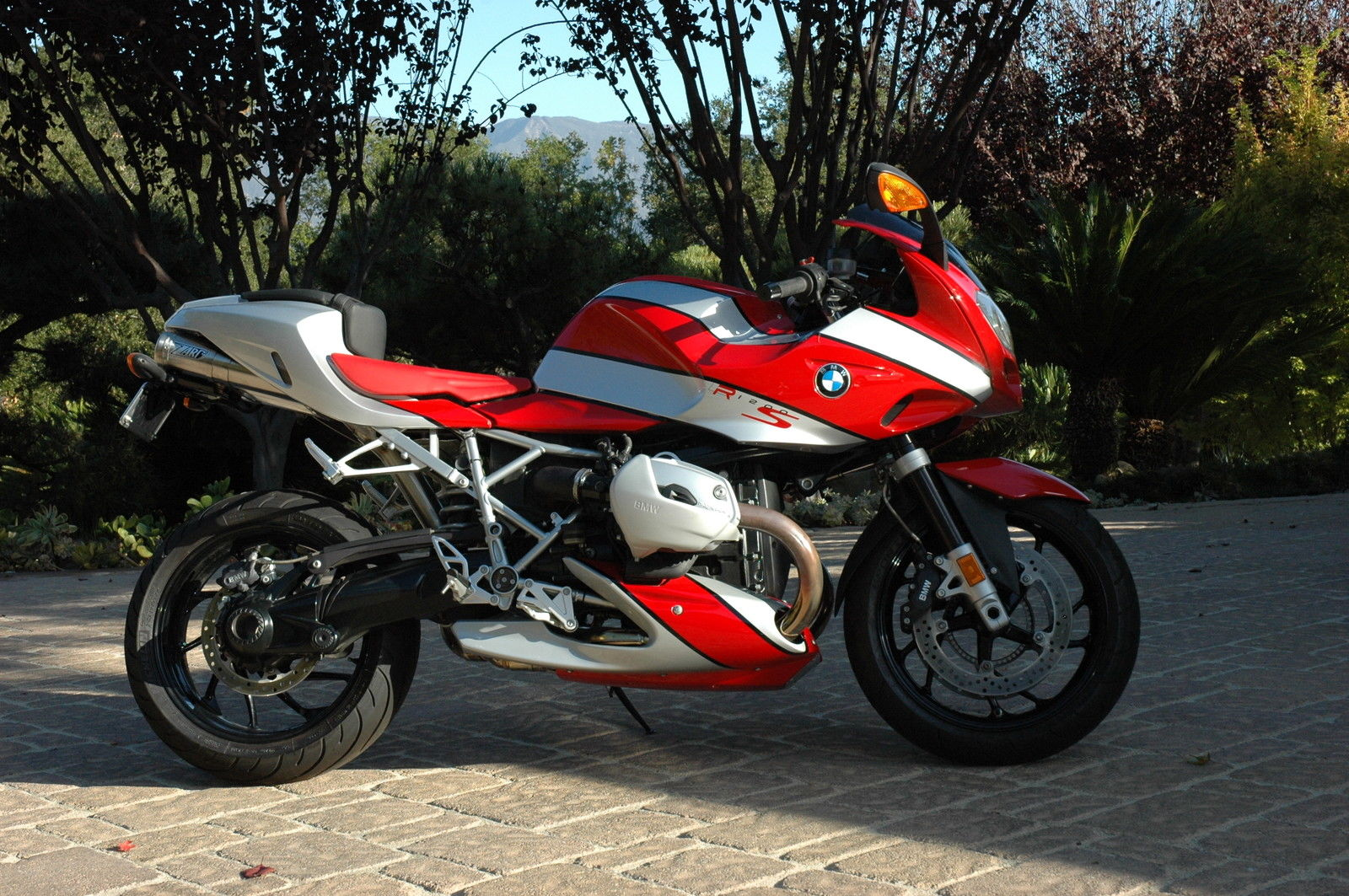 Candy Cane - 2007 BMW R1200S For Sale