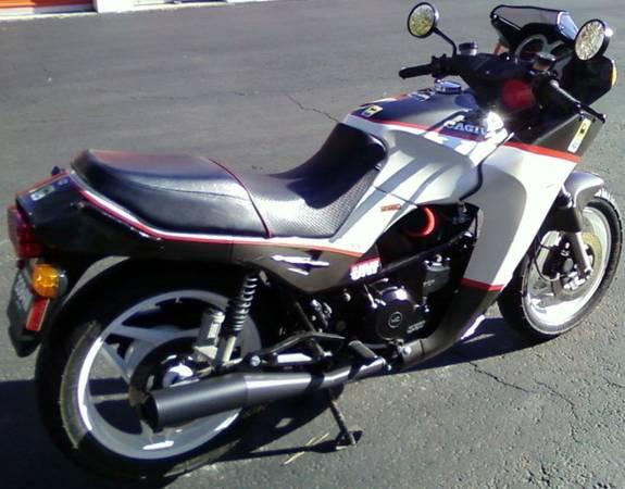 Alazzurra 650 ss Cagiva Alazzurra 650 Rear