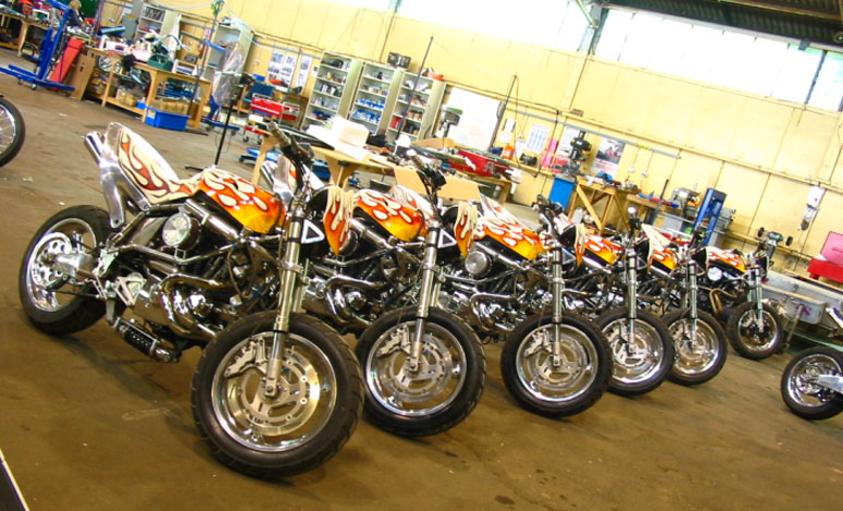 Ghost Rider Buell 3 Bike Urious