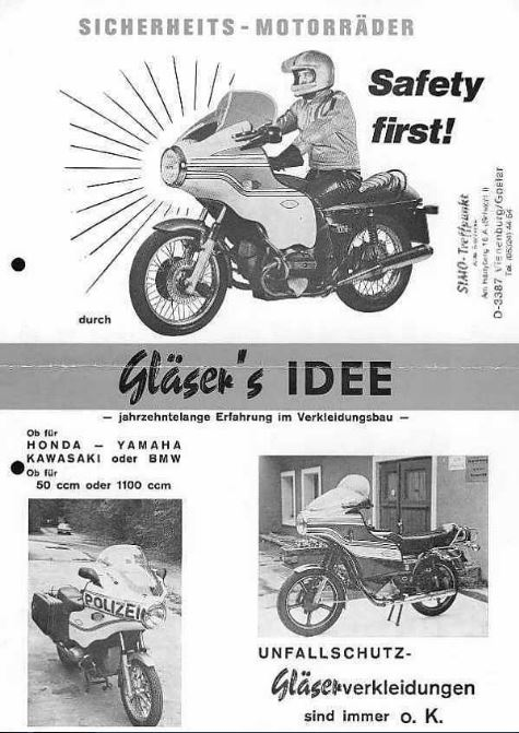 glaser-fairing-information