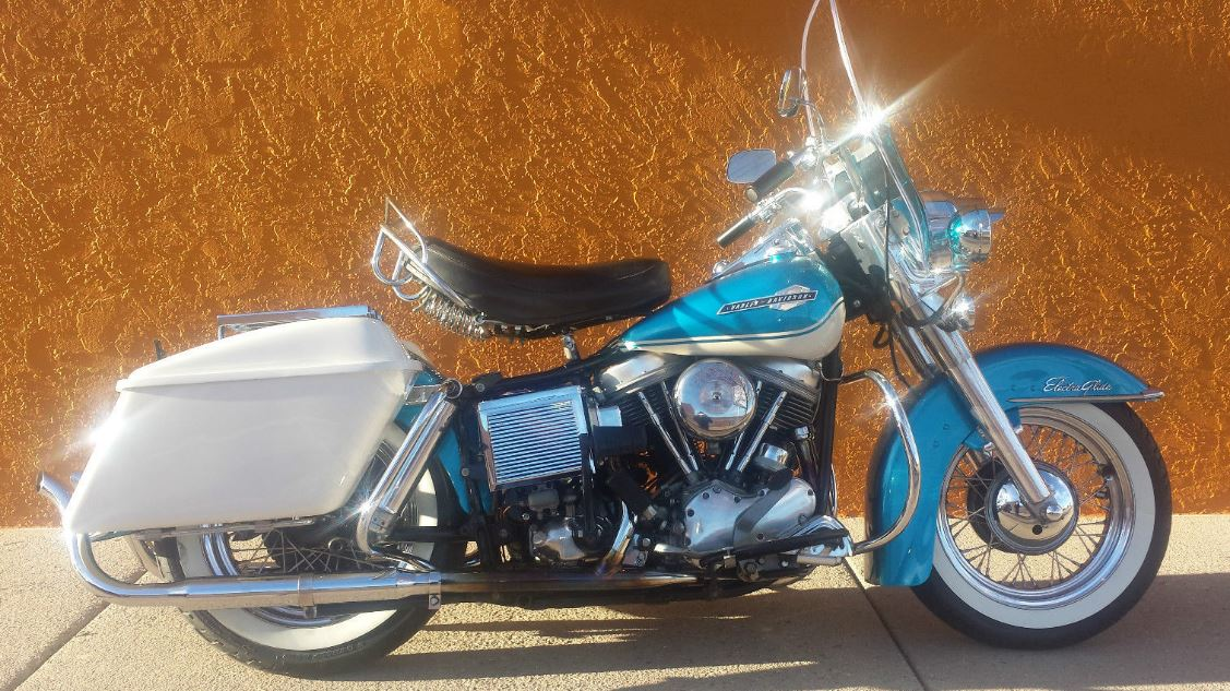 First and Last – 1965 Harley-Davidson Electra Glide FLHFB