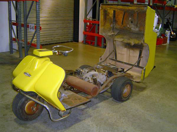1968 Harley Davidson Golf Cart | Bike-urious