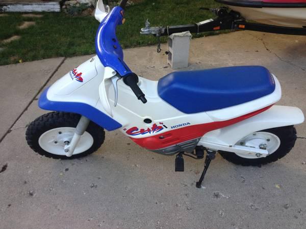 1991 honda cub ez 90 | bike-urious