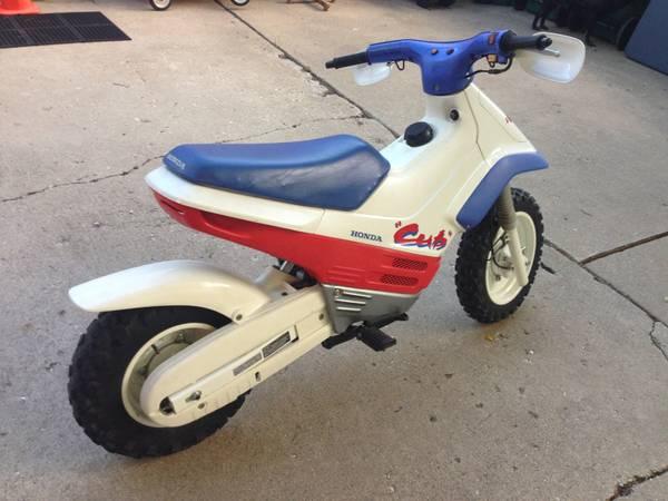 1991 Honda Cub Ez 90 Bike Urious