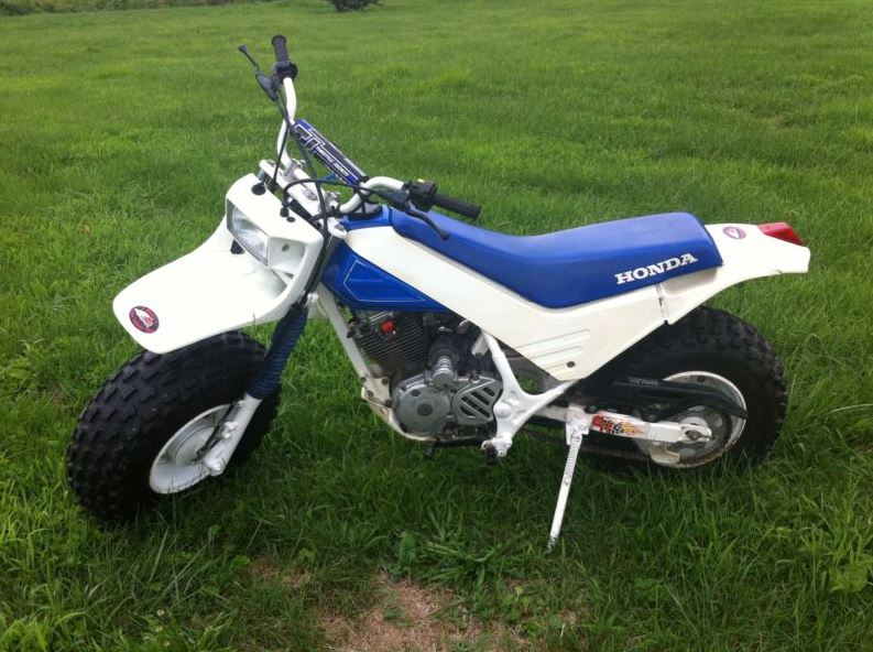 Dirt Bikes With Fat Tires Honda Fat Cat Left Side