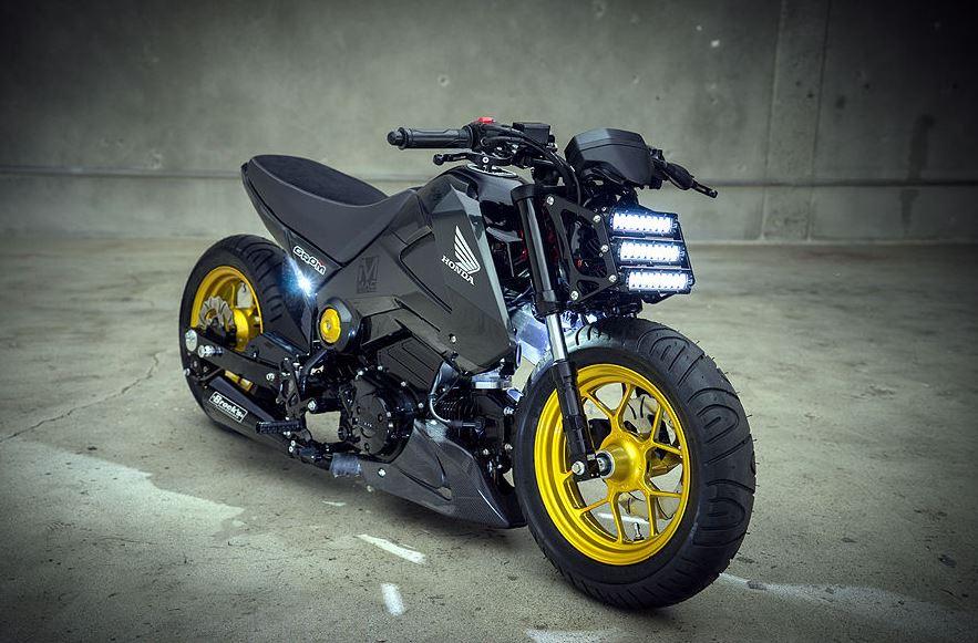 2014 Honda Grom Custom - Bike-urious