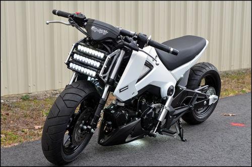 Honda Grom Front Bike Urious