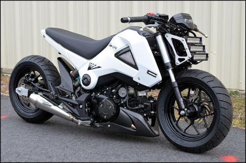 Honda Grom Modified >> 2013 Honda Grom MSX125 Custom For Sale - Bike-urious