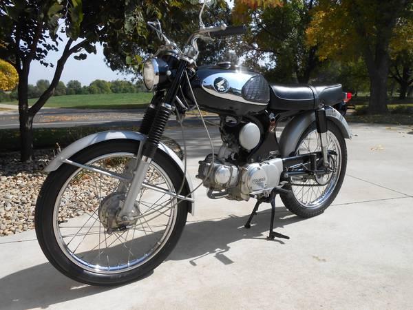1965 honda super 90 | bike-urious
