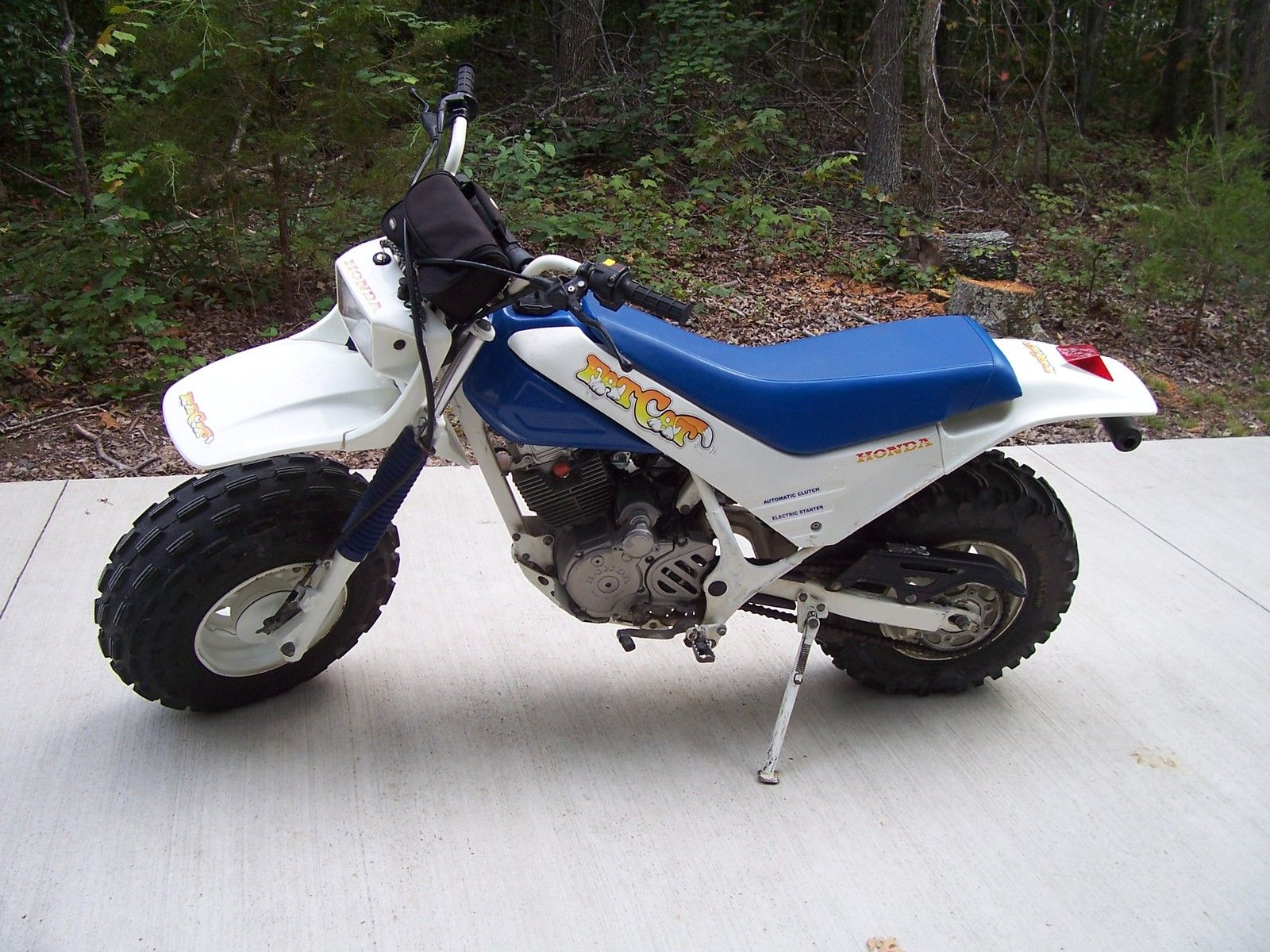 Dirt Bikes With Fat Tires Honda TR Fat Cat Left