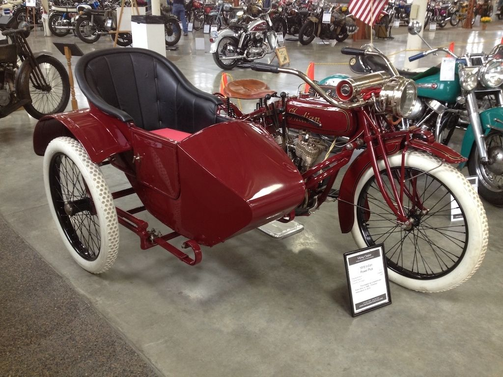 Bikes With Sidecars Ebay Indian Power Plus Sidecar