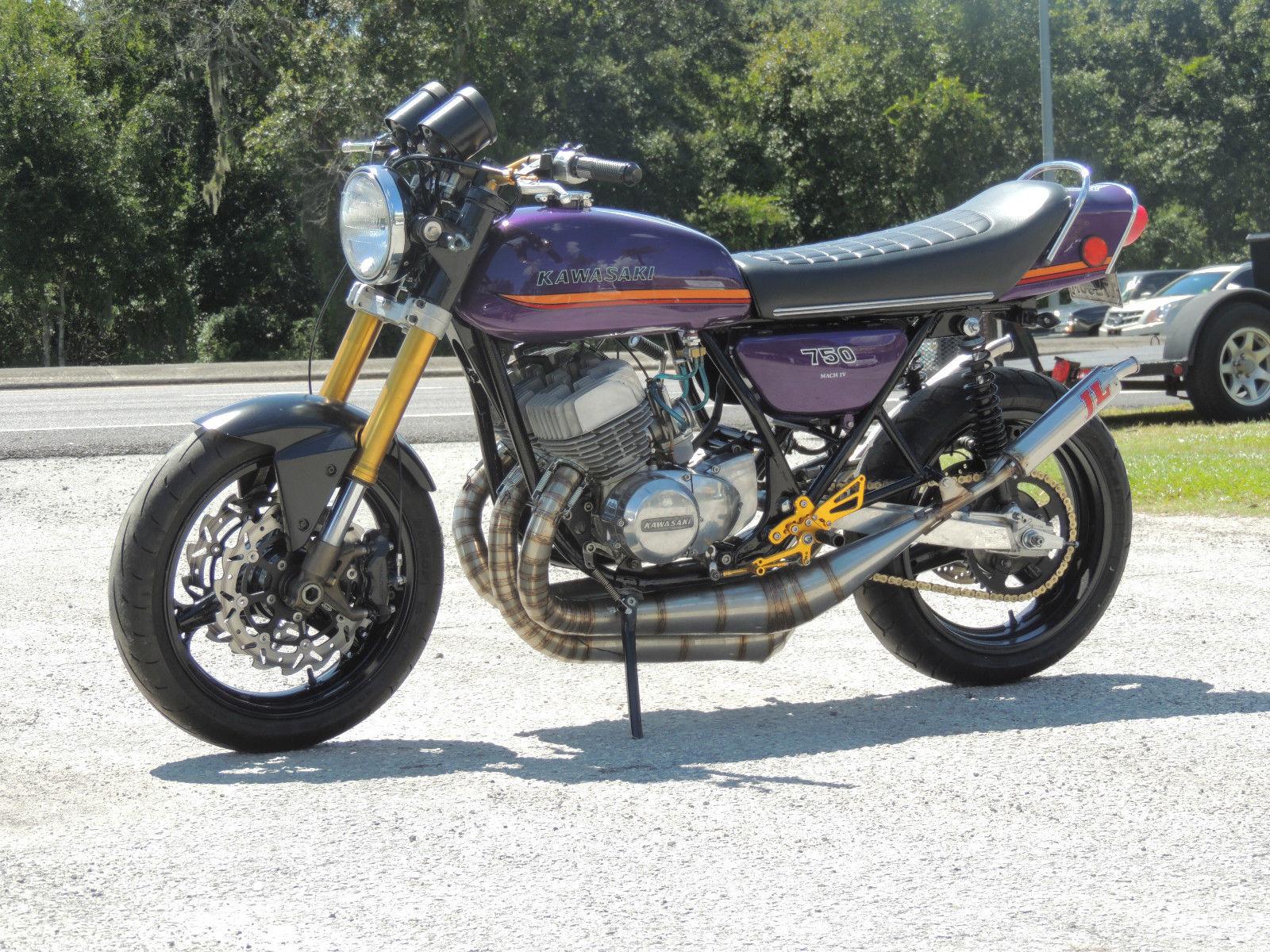 Kawasaki H Race Bike