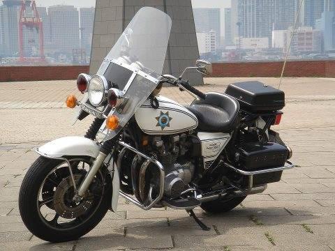 Kawasaki Police Kz1000