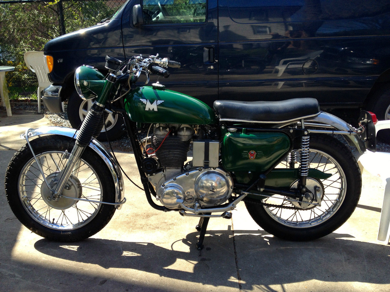 British Racing Green 1969 Matchless G80cs For Sale