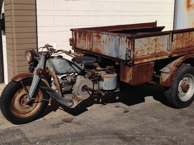Hercules 1954 Moto Guzzi Ercole Bike Urious