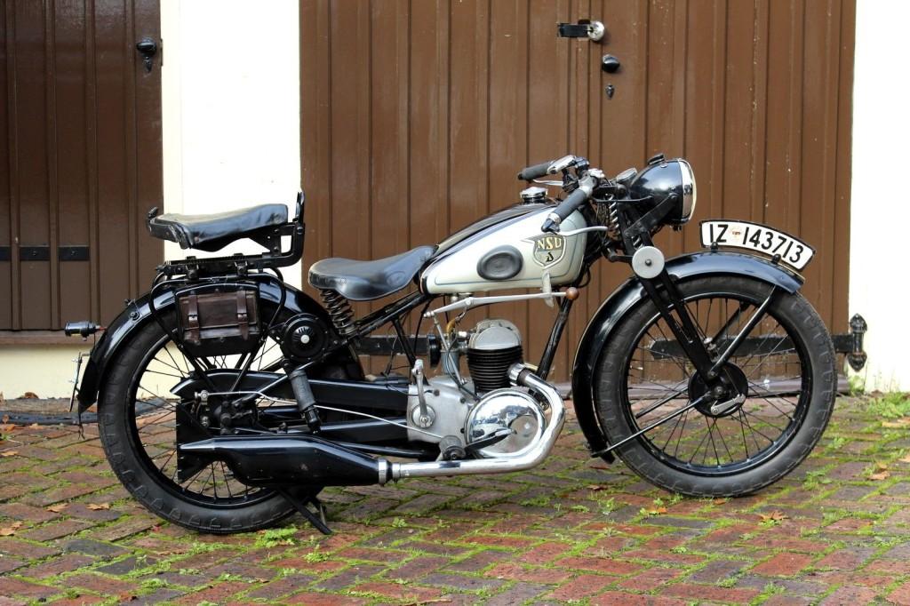 San Antonio BMW >> Hidden From The War – 1937 NSU Pony 201 ZDB – Bike-urious