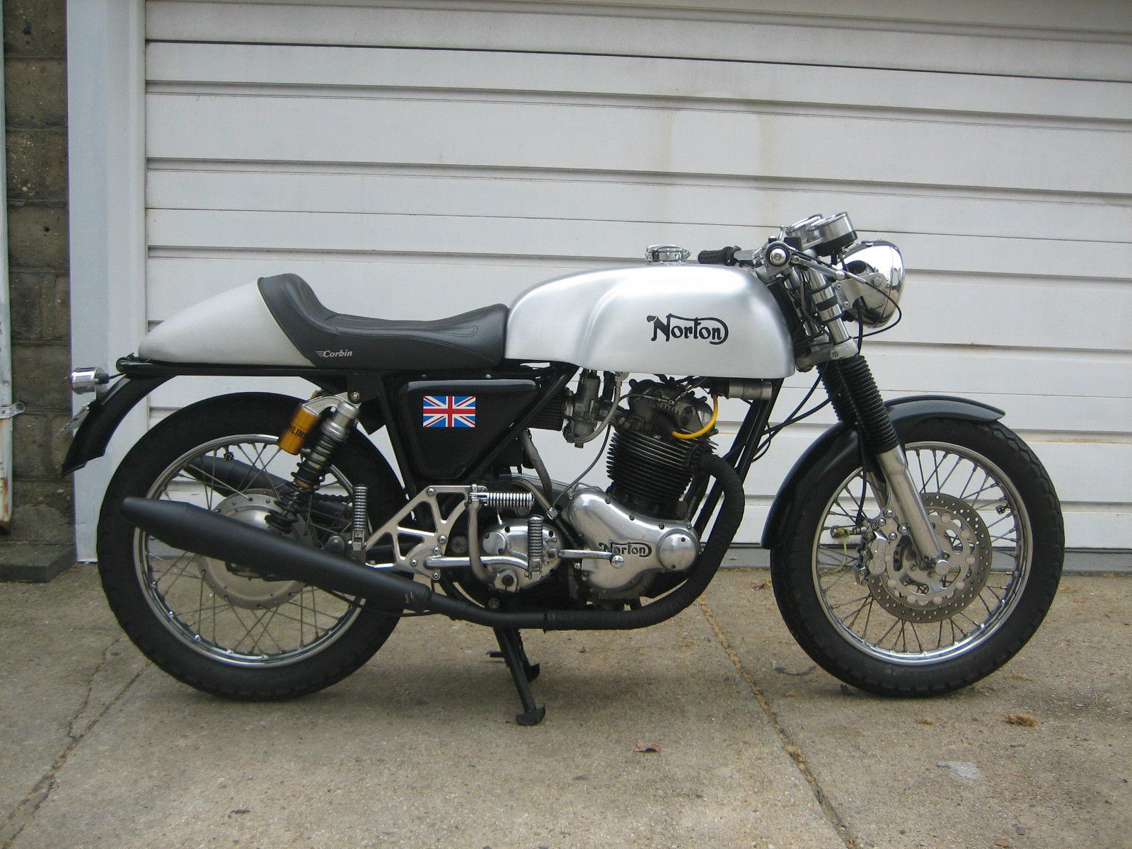 1972 Norton Commando Combat Cafe Racer Bike Urious