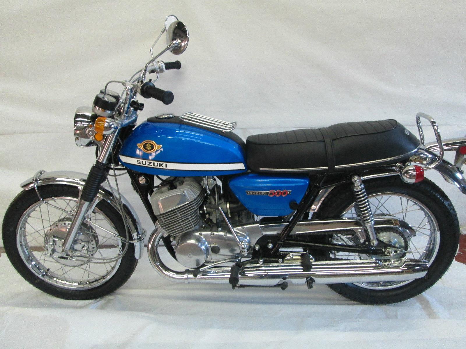Suzuki Titan T500 Left Side Bike Urious Honda Gb500 Wiring