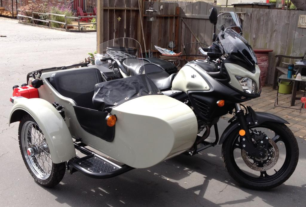Dual Sport Bikes With Sidecars M D Sidecar Front Right
