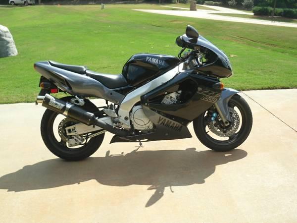 Yamaha Yzf 1000 R >> 1 Year Only 1997 Yamaha Yzf1000r Thunderace Bike Urious